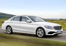 Nuova Mercedes Classe E: nel rendering, tanto in comune con la Classe C