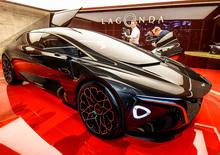Aston Martin Lagonda Vision Concept al Salone di Ginevra 2018 [Video]