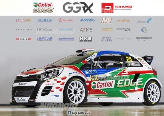 Gigi Galli e Kia nel mondiale World Rx