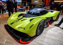 Aston Martin Valkyrie AMR Pro al Salone di Ginevra 2018 [Video]