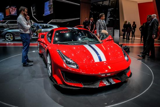 La Ferrari 488 Pista al Salone di Ginevra 2018