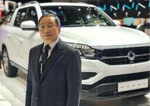 Johng-Sik Choi, CEO Ssangyong: Oggi Musso, nel 2019 Tivoli e Korando. Speriamo nel dialogo tra le Coree e gli States