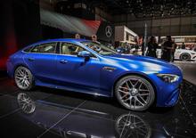 Mercedes-AMG GT 4 Coupé al Salone di Ginevra 2018 [Video]