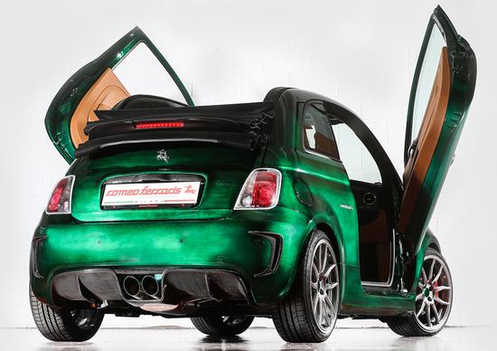 Romeo Ferraris: ecco la nuova Romeo S