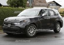 SUV Alfa Romeo, il muletto è una 500L