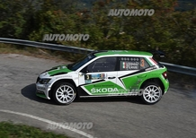 CIR 2015. Rally 2 Valli. Scandola in testa (e a Verona è delirio)