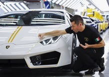 Lamborghini: premio di 2.850 euro ai dipendenti