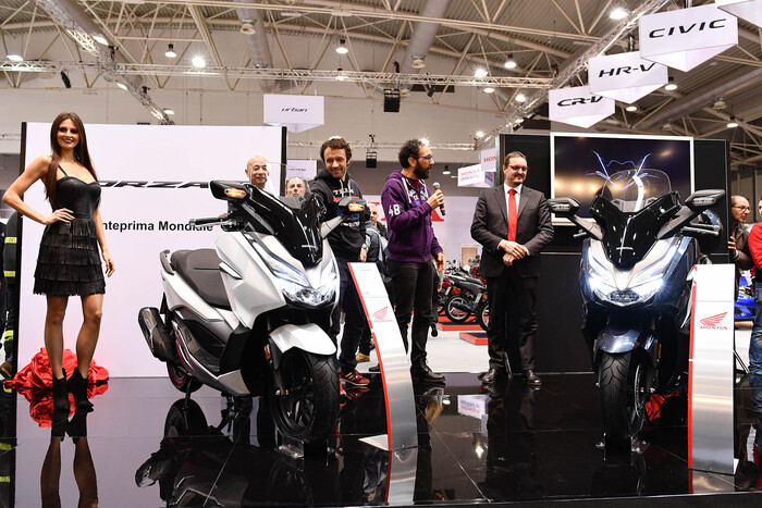 Il debutto di Forza 300 a MotoDays 2018