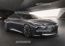 Lexus LF-FC Concept, è a idrogeno l'ammiraglia del futuro