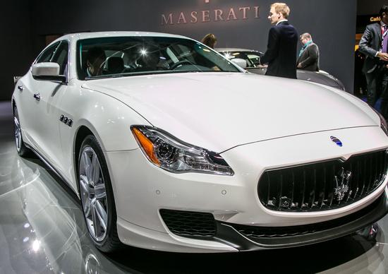 Maserati: stop produzione per sei settimane, si aspetta la Levante