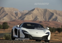McLaren 650S Spider Al Sahara 79, all'emiro la supercar piace d'oro