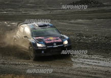 WRC GB. Day 1, Ogier (VW), Meeke, Mikkelsen