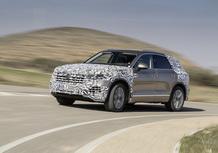 Volkswagen Touareg, un video e nuove foto anticipano la futura generazione