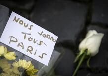 Strage di Parigi, l'auto francese in lutto