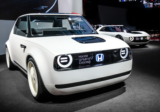 Honda Urban EV, la produzione dell'elettrica partirà a inizio 2019
