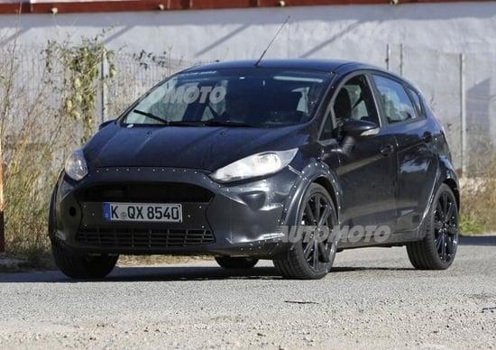 Ford Fiesta 7, eccola su strada