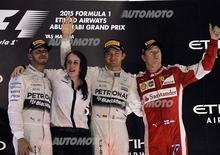F1 2015: la classifica piloti e costruttori dopo il Gp di Abu Dhabi