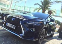Nuova Lexus RX Hybrid: la conferenza in diretta