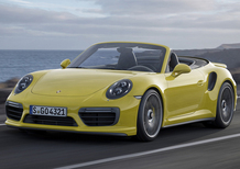Porsche 911 Turbo restyling: arriva a Detroit, ha 580 cavalli