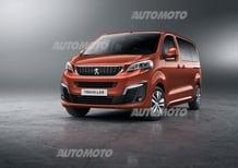 Citroen Spacetourer, Peugeot Traveller e Toyota Proace: arrivano i nuovi van