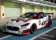 Maserati GranTurismo MC: pronta per la sfida GT4