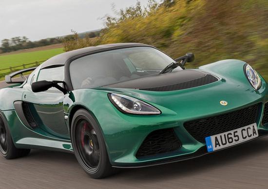 Lotus Exige Sport 350: più leggera e più scattante