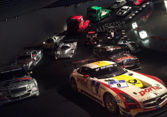 Mercedes, il Museo di Stoccarda si arricchisce della F1 di Hamilton