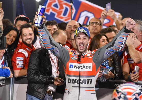MotoGP 2018. Dovizioso: E' una figata!