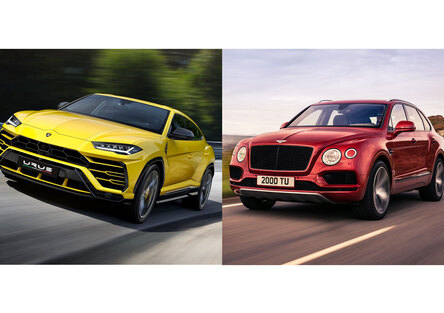 Quale comprare, Confronto: Lamborghini Urus Vs Bentley Bentayga