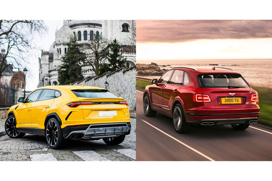 Sportività inedita, per un SUV, contro lusso classicheggiante