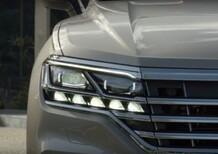 Volkswagen Touareg 2018, un video svela nuovi dettagli