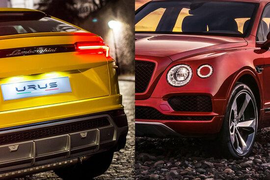 Il superSUV tricolore spreme 100CV in più dal V8 biturbo e vanta ruote posteriori sterzanti, netta la sua prevalenza prestazionale