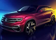 Volkswagen, a New York con un concept SUV per l'America