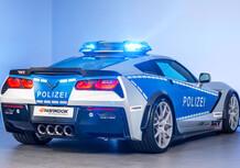 Corvette Stingray, la nuova arma della Polizia tedesca