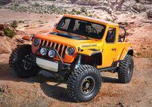 Jeep, ecco le 7 concept per il Moab Safari 2018