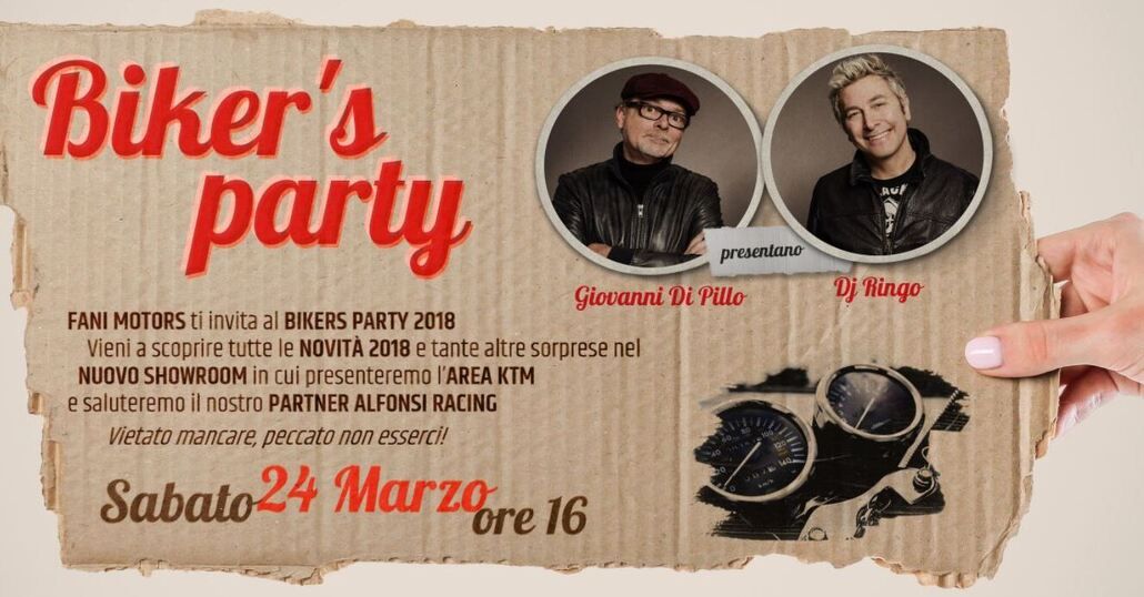 Biker's Party a Firenze da Fani Motors