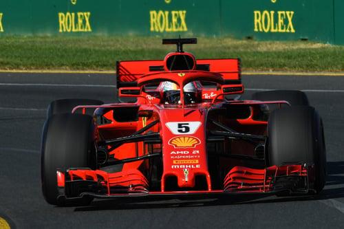 La Ferrari trionfa in Australia: Vettel primo, Raikkonen terzo