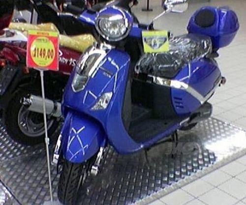 La Lambretta cinese venduta nei centri commerciali