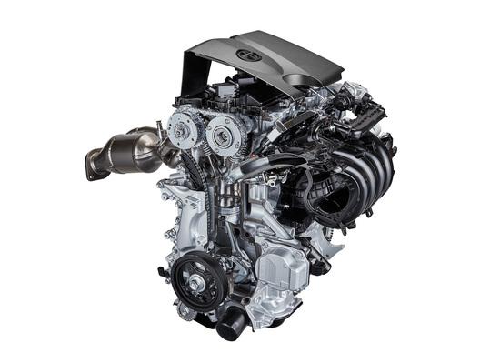 Un motore Toyota