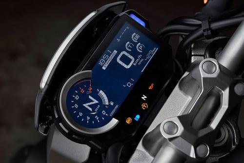 Il cruscotto della Honda CB 1000R