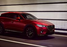 Mazda CX-3, il restyling debutta al Salone di New York 2018