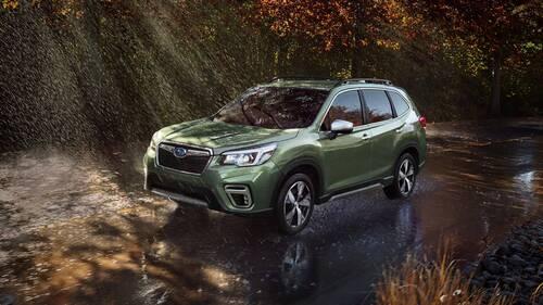 Subaru Forester, a New York la quinta generazione (2)