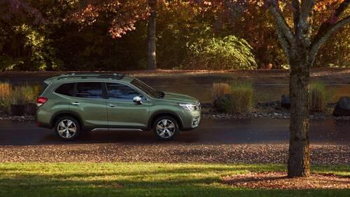 Subaru Forester, a New York la quinta generazione (3)