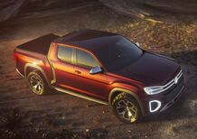 Volkswagen Atlas Tanoak, pick-up tedesco all'americana