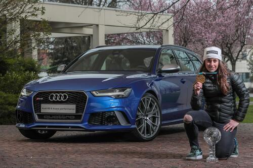 Audi, una RS 6 per Sofia Goggia (2)