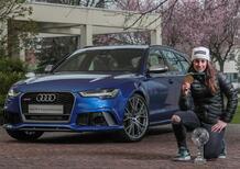 Audi, una RS 6 per Sofia Goggia