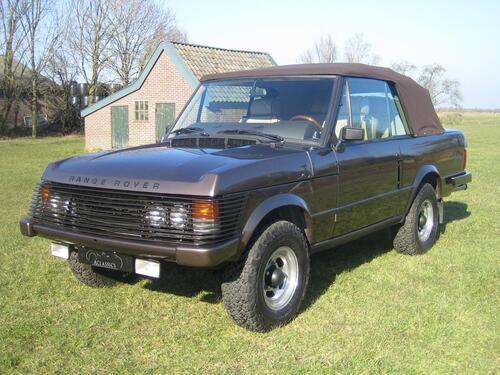 Una Range Rover Cabrio? C'era già nel '73. L'aveva il Re di Spagna (6)