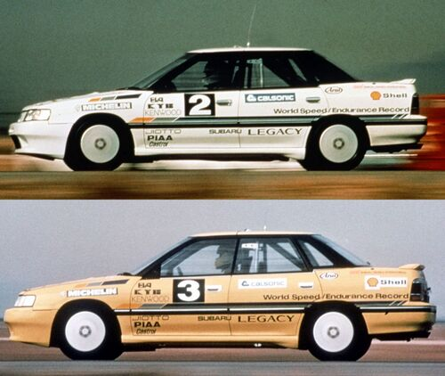 Subaru, 30 anni di STI (3)
