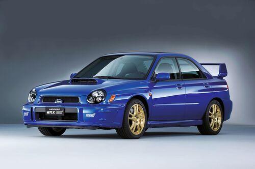 Subaru, 30 anni di STI (2)