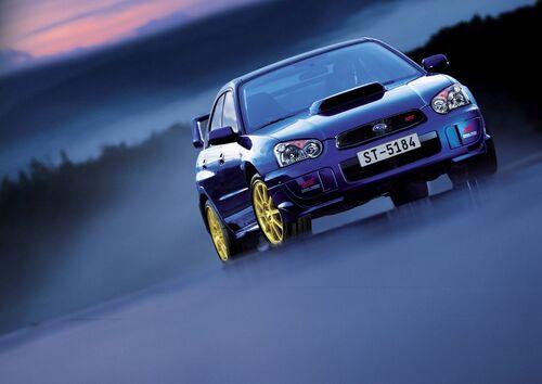 Subaru, 30 anni di STI (6)